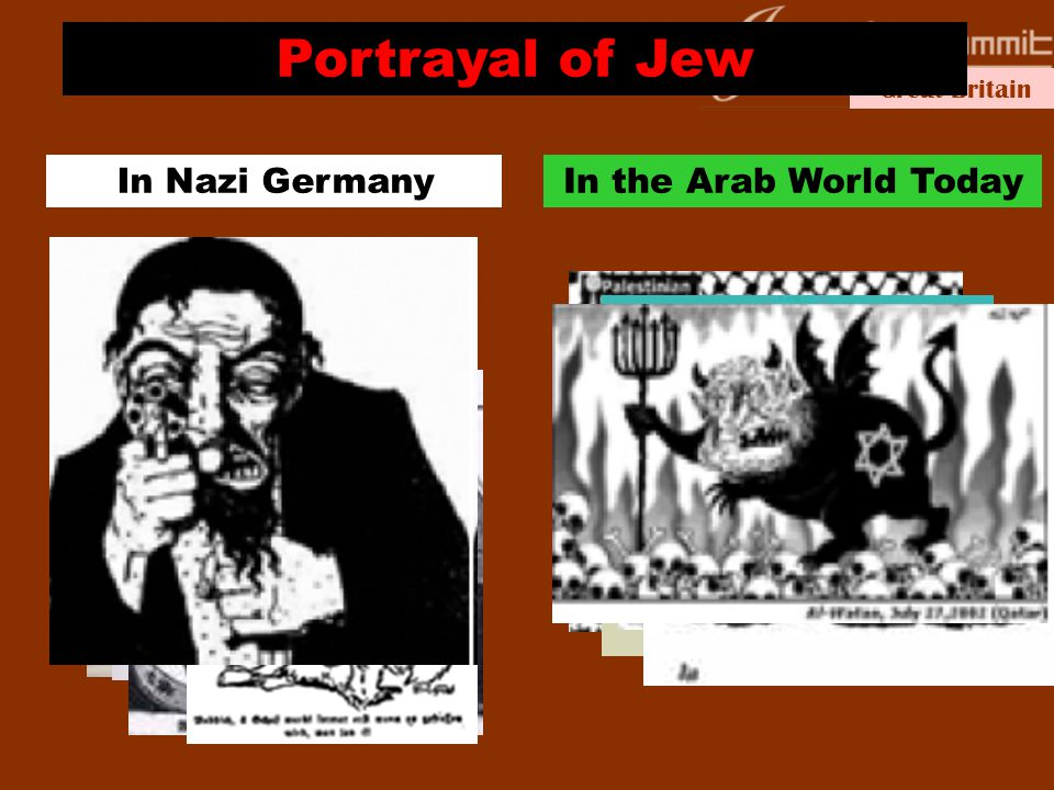 Great Britain Portrayal of Jew In Nazi GermanyIn the Arab World Today