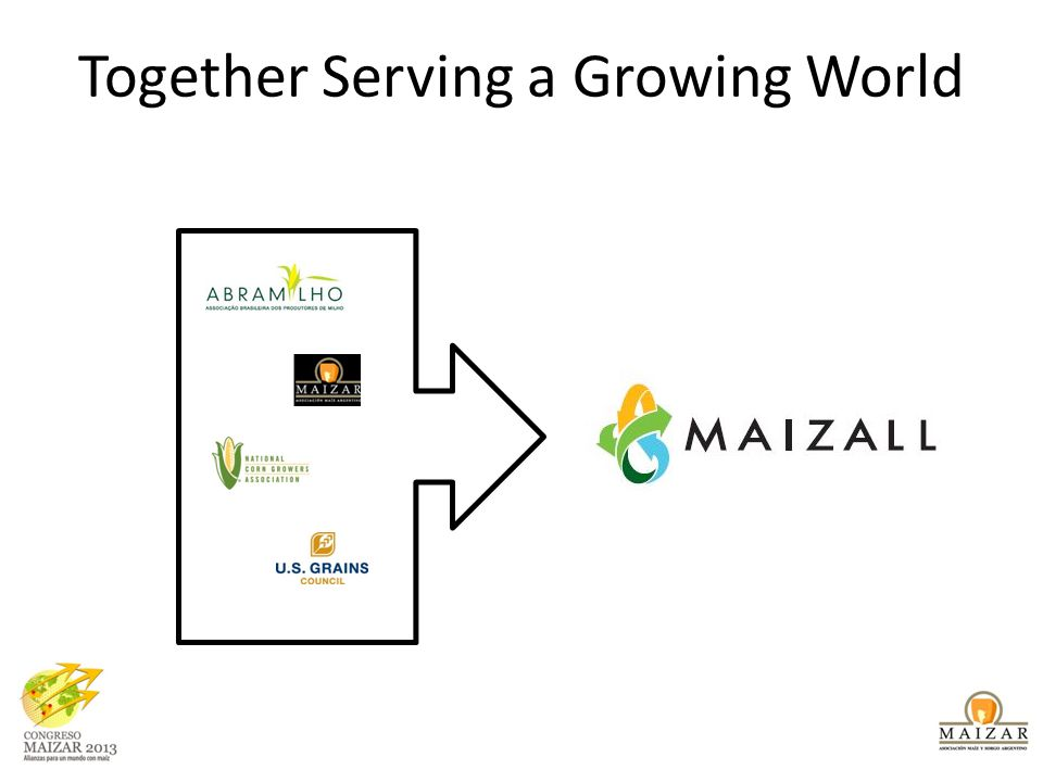 Together Serving a Growing World