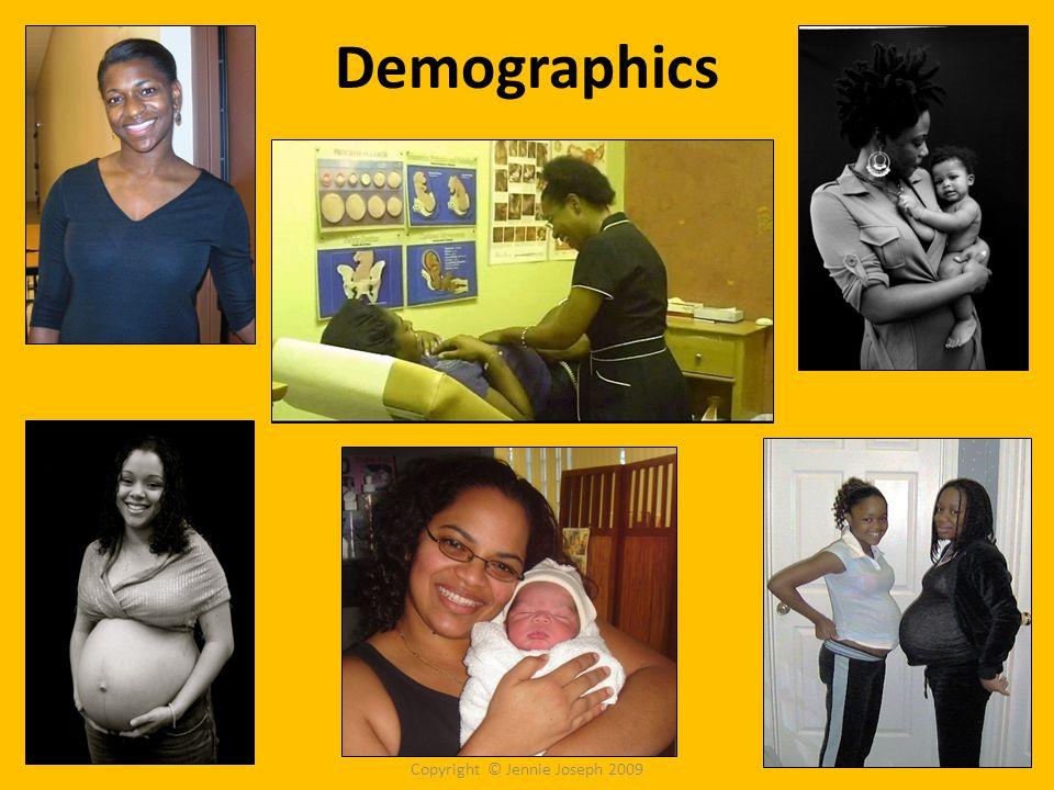 Demographics Copyright © Jennie Joseph 2009