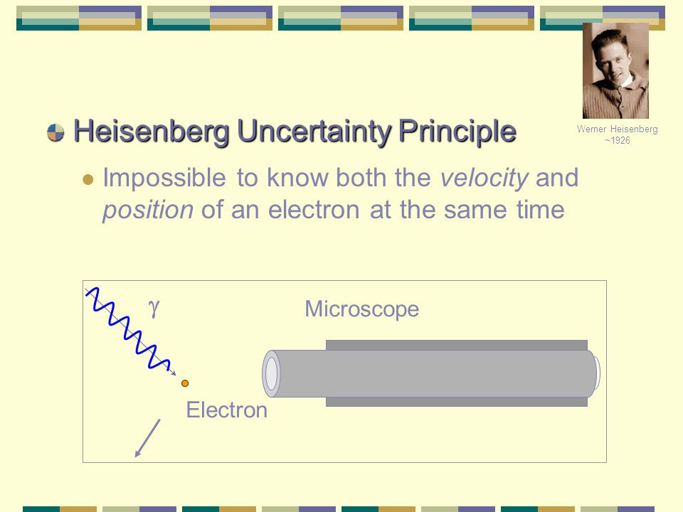 C. Heisenberg's Uncertainty Principle says that there is a fundamental limitation on just how precisely we can hope to know both the location and the