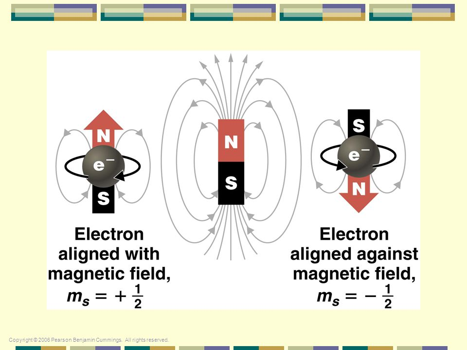 Quantum Numbers Spin Quantum Number 4. Spin Quantum Number ( m s ) Electron spin  +½ or -½ An orbital can hold 2 electrons that spin in opposite dire