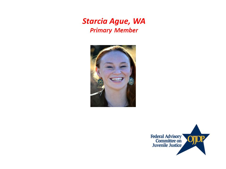 Starcia Ague, WA Primary Member