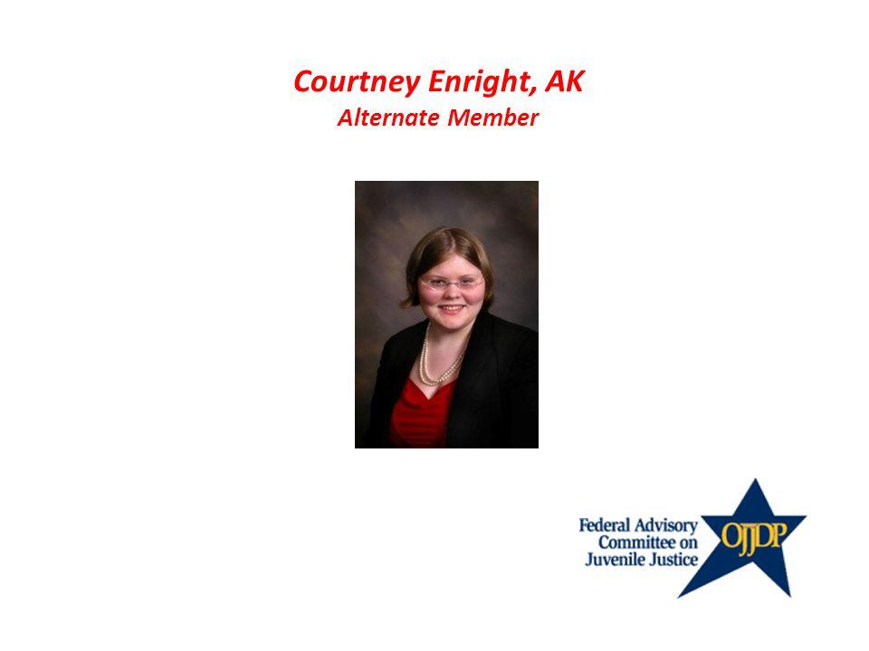 Courtney Enright, AK Alternate Member