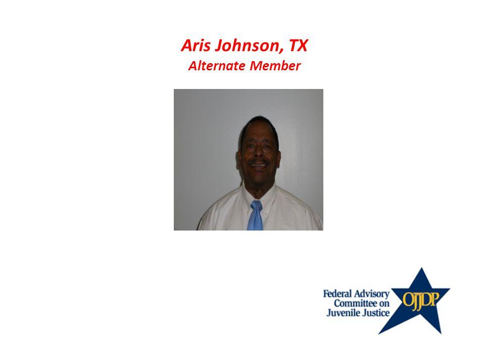 Aris Johnson, TX Alternate Member