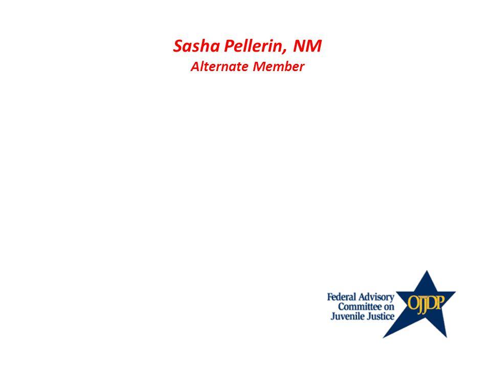 Sasha Pellerin, NM Alternate Member