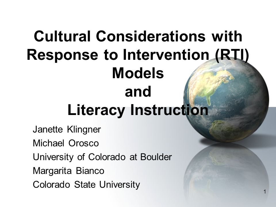 72 Closing thoughts… What would an effective RTI model for culturally and linguistically diverse students look like.
