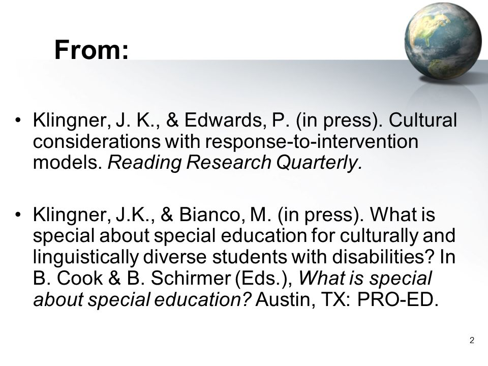 63 What should the RTI process look like for culturally and linguistically diverse students.