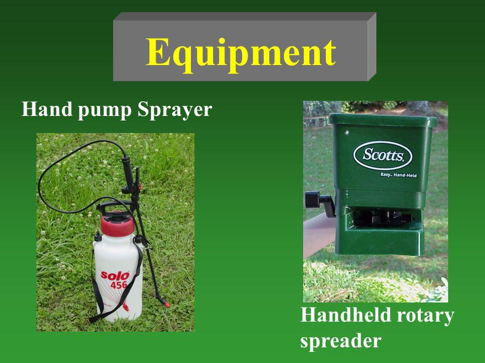 Equipment Hand pump Sprayer Handheld rotary spreader