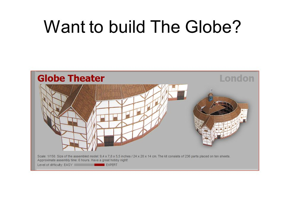 Want to build The Globe