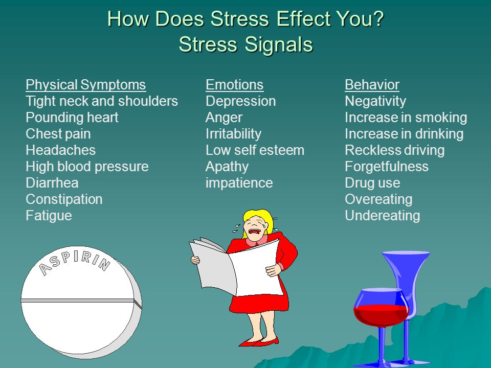 How Does Stress Effect You.