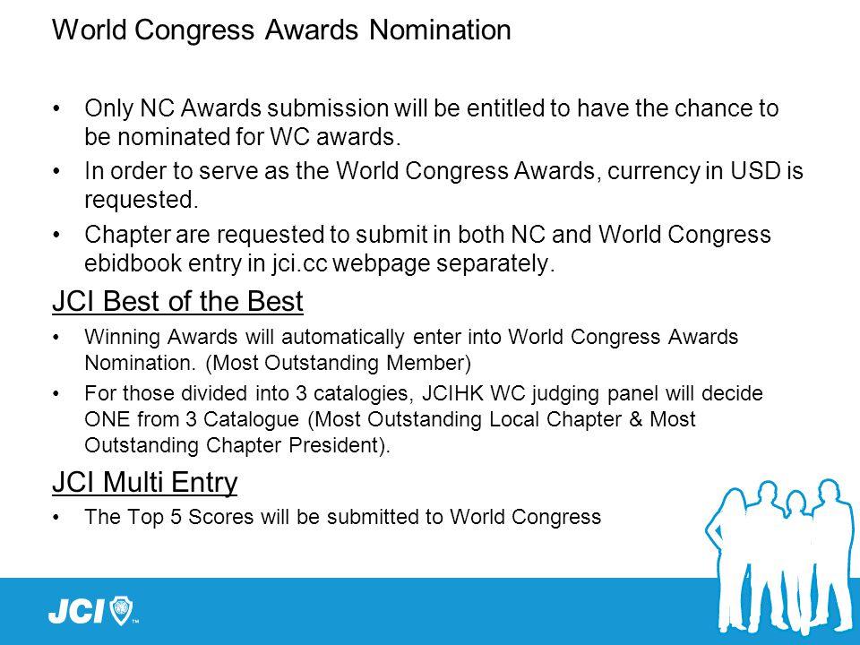 JCI Website: for submission of e-Bid Books http://www.jci.cc/local/hongkong JCIHK Website for 2013 NC award program updates