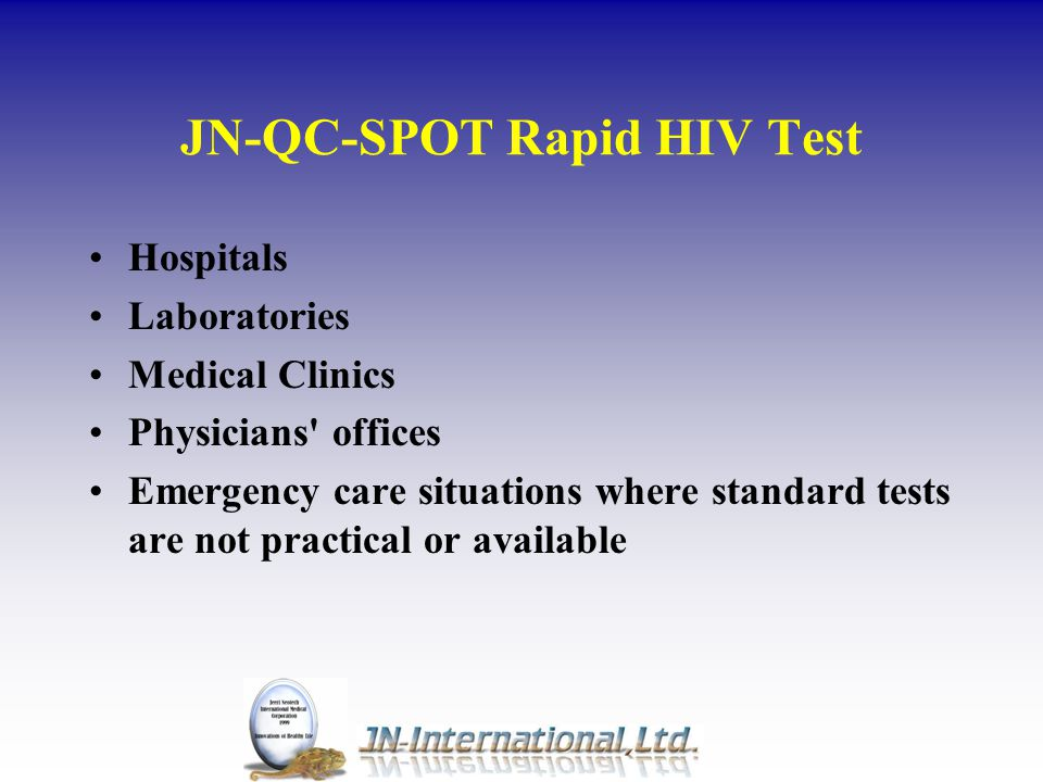 Point of care testing (POCT) Shift from central lab testing to other sites in the last decade Diabetes monitoring Fertility testing Kidney and liver function Tumor detection Infectious disease Alcoholoism