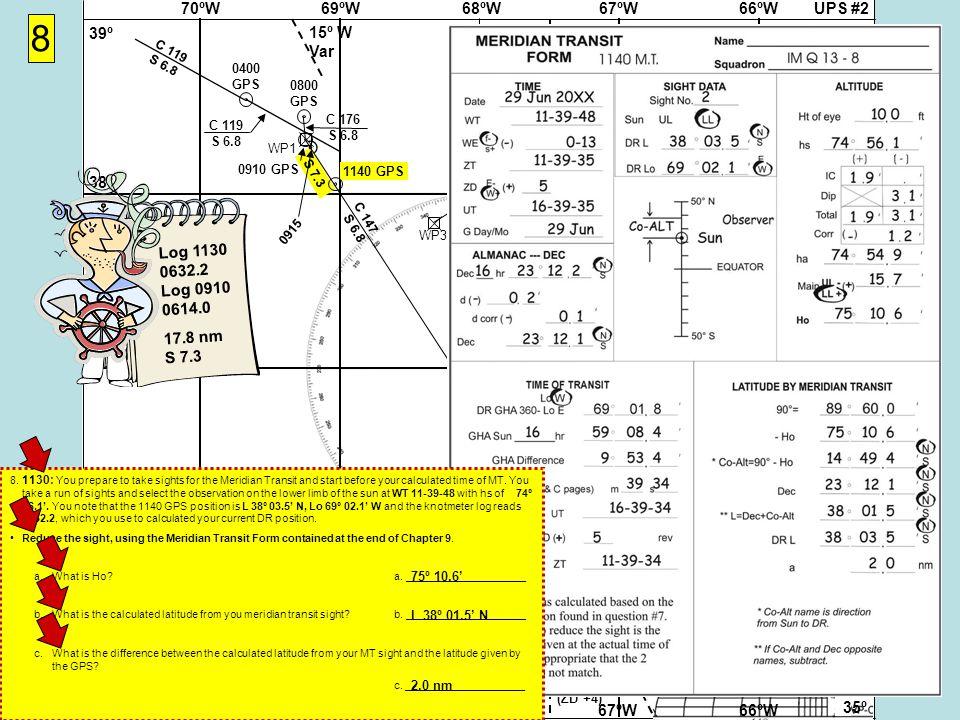 UPS #268ºW69ºW70ºW67ºW66ºW 37Nº 38º 39º 36º 35º 37Nº 38º 39º 36º 35º 68ºW69ºW70ºW67ºW66ºW 15º W Var (ZD +5)(ZD +4) (ZD +5)(ZD +4) S 7.3 WP2WP1 8 Cape Hatteras Virgin Rock 058-238º WP3 WP4 Cape Hatteras Gibraltar 071-251º 0400 GPS C 119 S 6.8 0800 GPS C 119 S 6.8 C 176 S 6.8 0910 GPS 0915 1140 GPS 8.