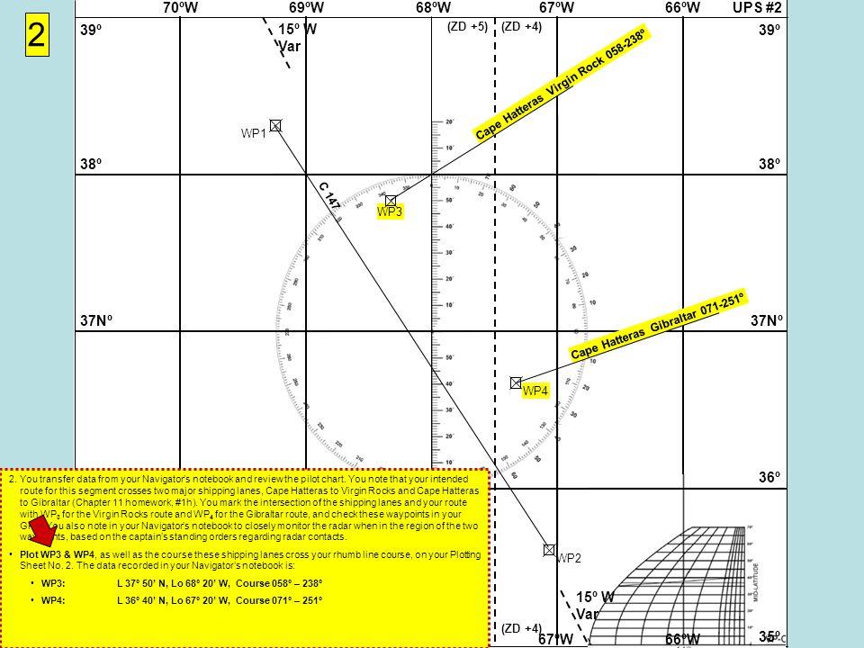 UPS #268ºW69ºW70ºW67ºW66ºW 37Nº 38º 39º 36º 35º 37Nº 38º 39º 36º 35º 68ºW69ºW70ºW67ºW66ºW 15º W Var (ZD +5)(ZD +4) (ZD +5)(ZD +4) WP1WP2 2 C 147 Cape Hatteras Virgin Rock 058-238º WP3 WP4 Cape Hatteras Gibraltar 071-251º 2.