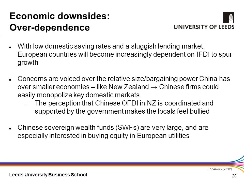 Leeds University Business School With low domestic saving rates and a sluggish lending market, European countries will become increasingly dependent o