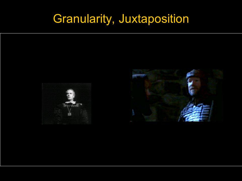 Granularity, Juxtaposition