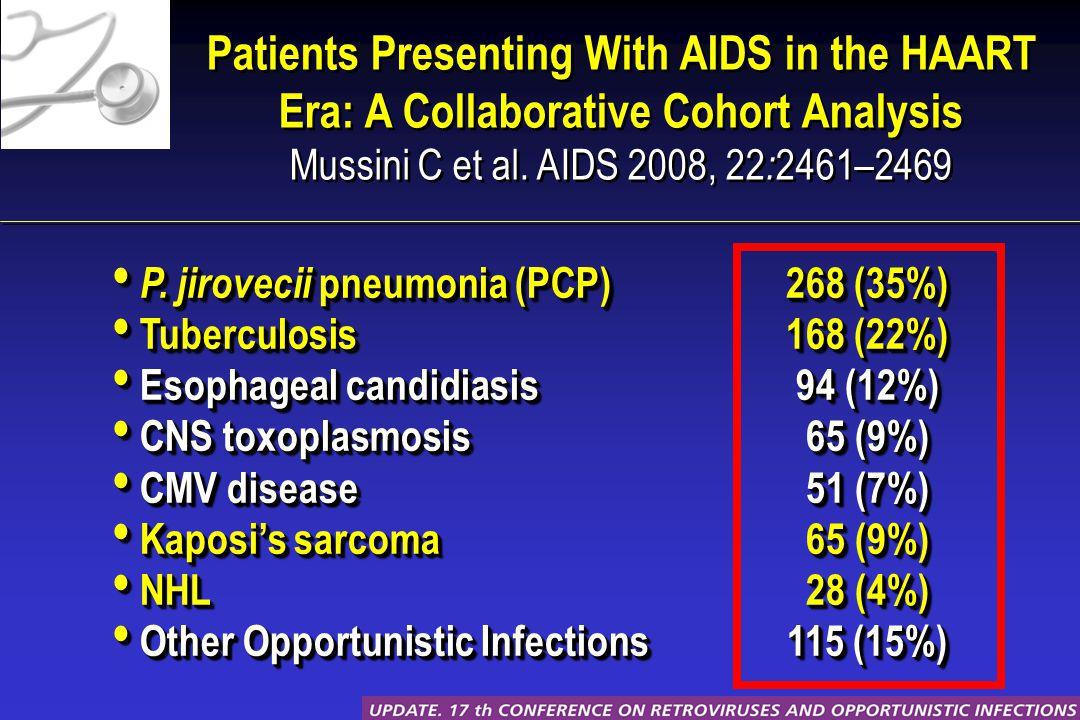 P. jirovecii pneumonia (PCP) P.