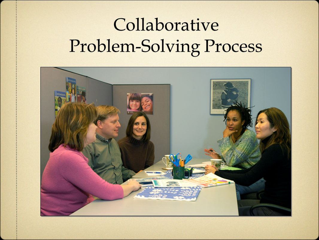 Collaborative Problem-Solving Process