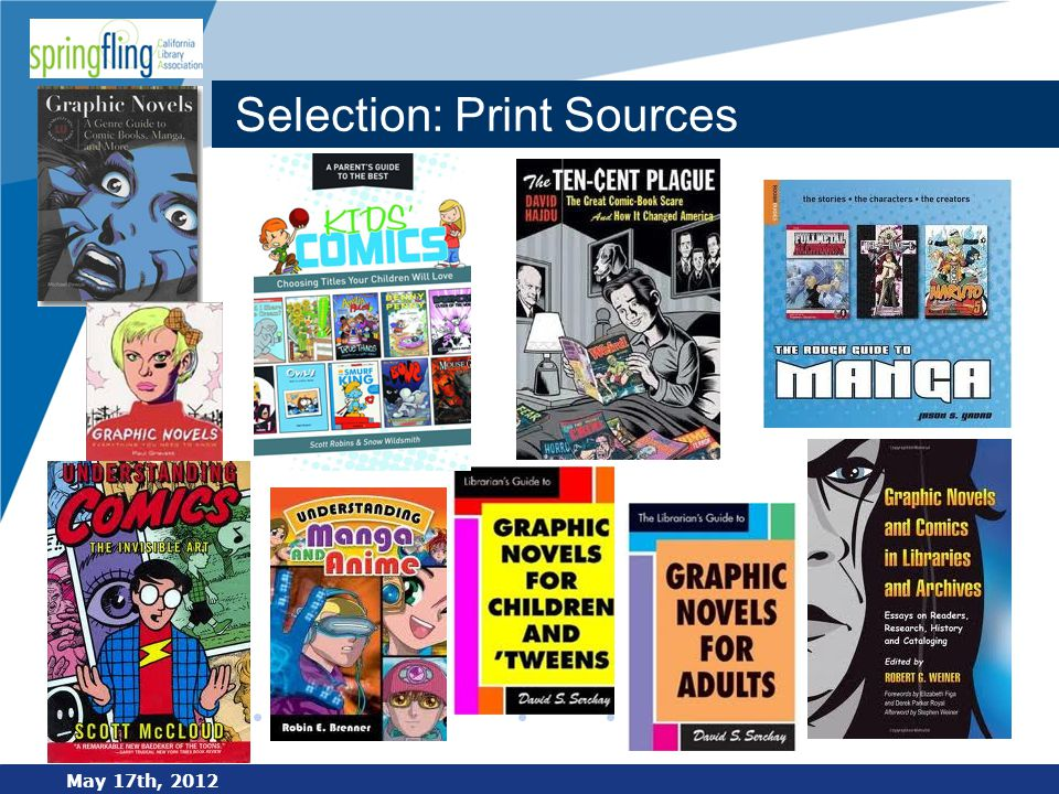 www.company.com Selection: Print Sources May 17th, 2012