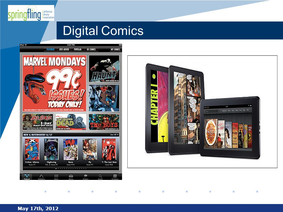 www.company.com Digital Comics May 17th, 2012