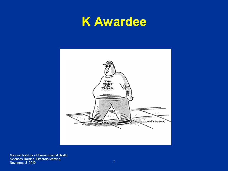 NIH K Award Due Dates Application Stage Cycle ICycle IICycle III Due Date (for new applications) February 12 th June 12thOctober 12 th Scientific Merit Review June – JulyOctober – November February – March Advisory Council Review August or October* JanuaryMay Earliest Project Start Date September or December* AprilJuly *Advisory Council Round for Cycle I applications may be August or October, and their earliest project start date may be September or December respectively.