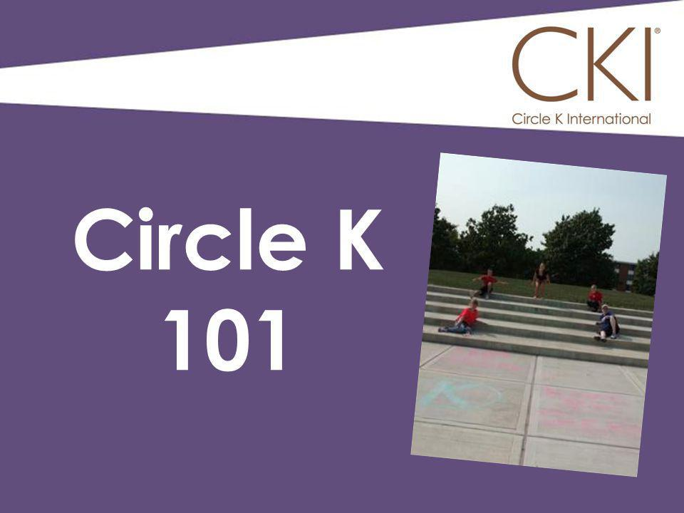 Premiere collegiate service organization in the world Student- Led On more than 550 campuses globally Sponsored by Kiwanis What is Circle K?
