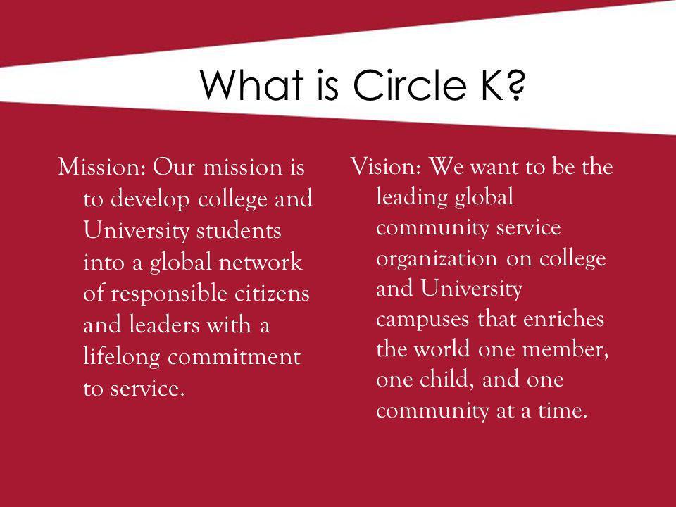 Service Leadership Fellowship The 3 Tenets of CKI