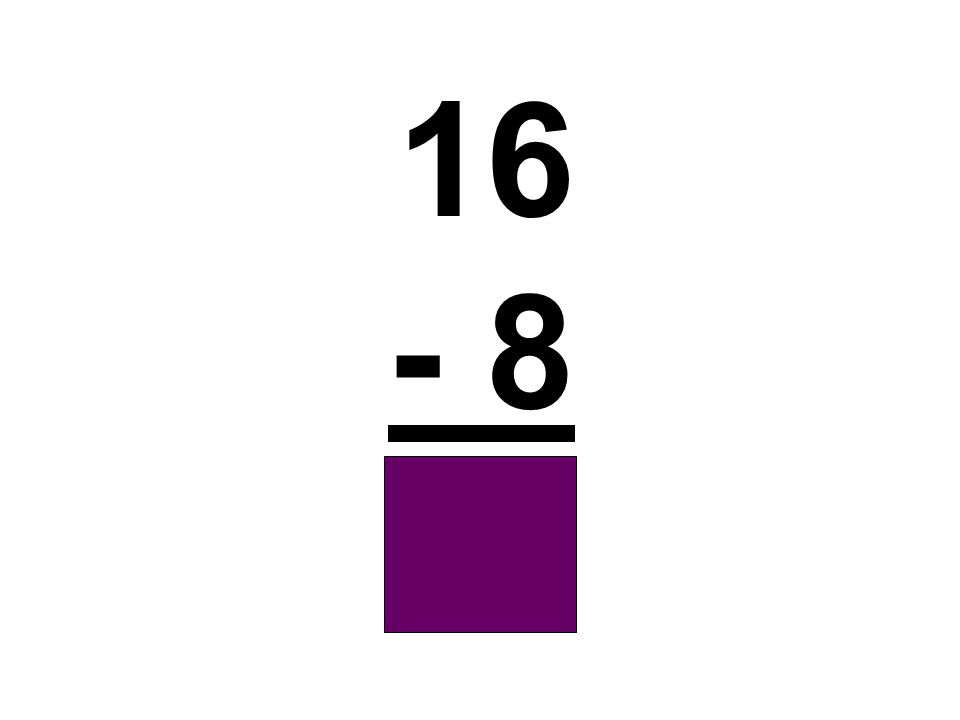 16 - 8 8