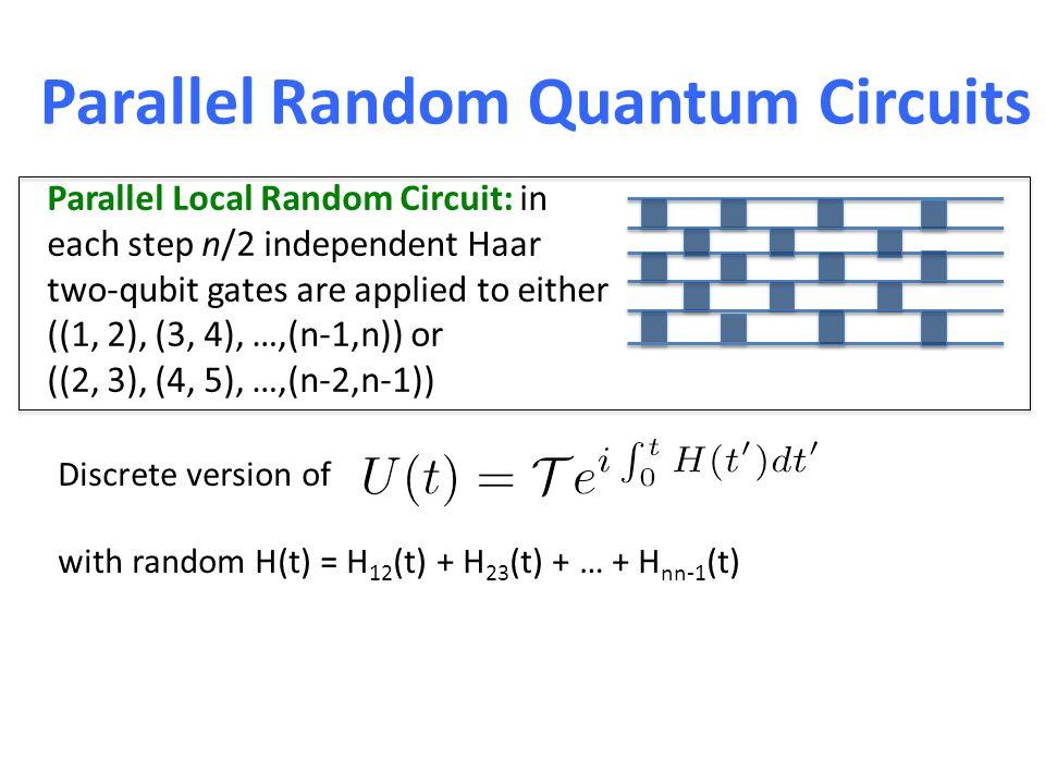 Random Quantum Circuits as k-designs.