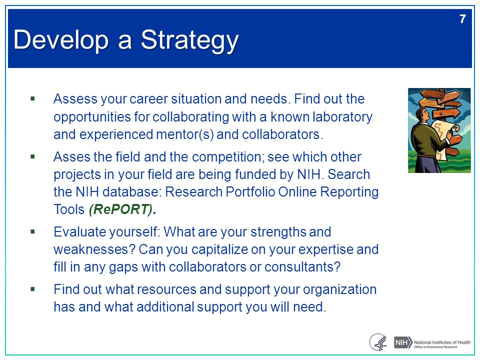  Assess your career situation and needs. Find out the opportunities for collaborating with a known laboratory and experienced mentor(s) and collabora