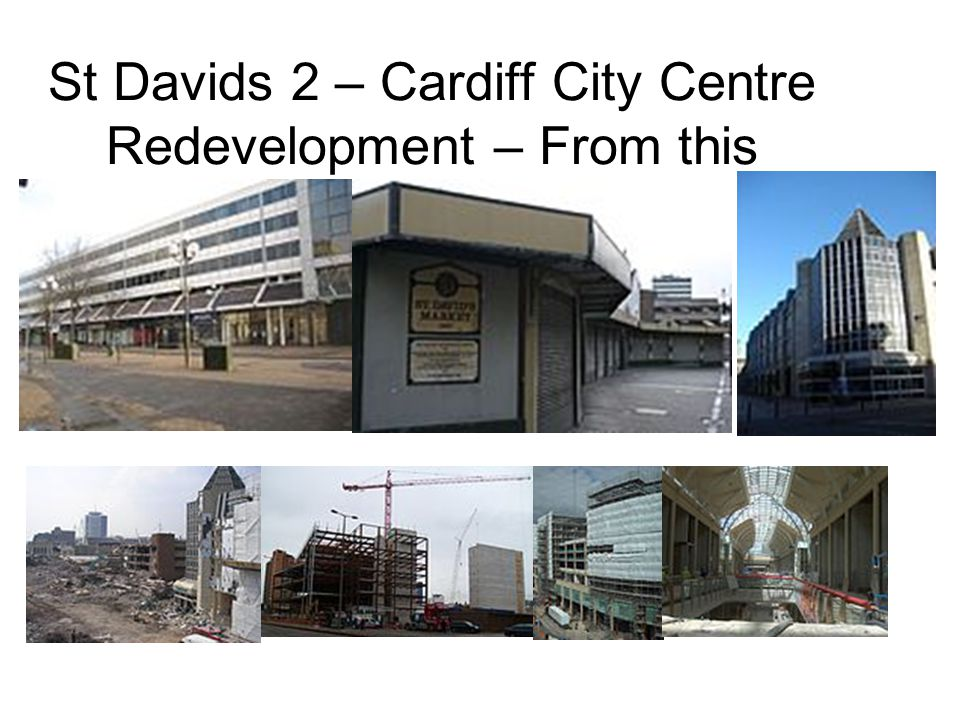 St Davids 2 – Cardiff City Centre Redevelopment – From this