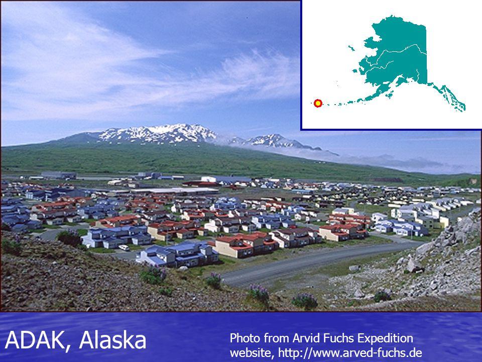 Photo from Arvid Fuchs Expedition website, http://www.arved-fuchs.de ADAK, Alaska