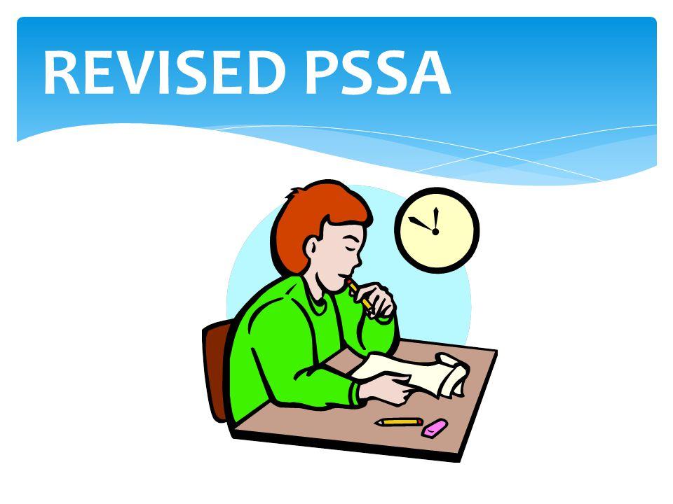 REVISED PSSA