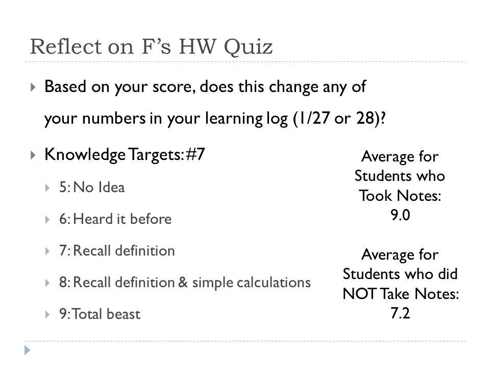Homework Quiz Review  Kinetic Energy Equation?  Work-KE Theorem Equation?