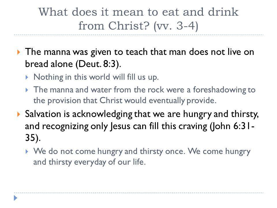  How do we fight idolatry. Overeat!!.