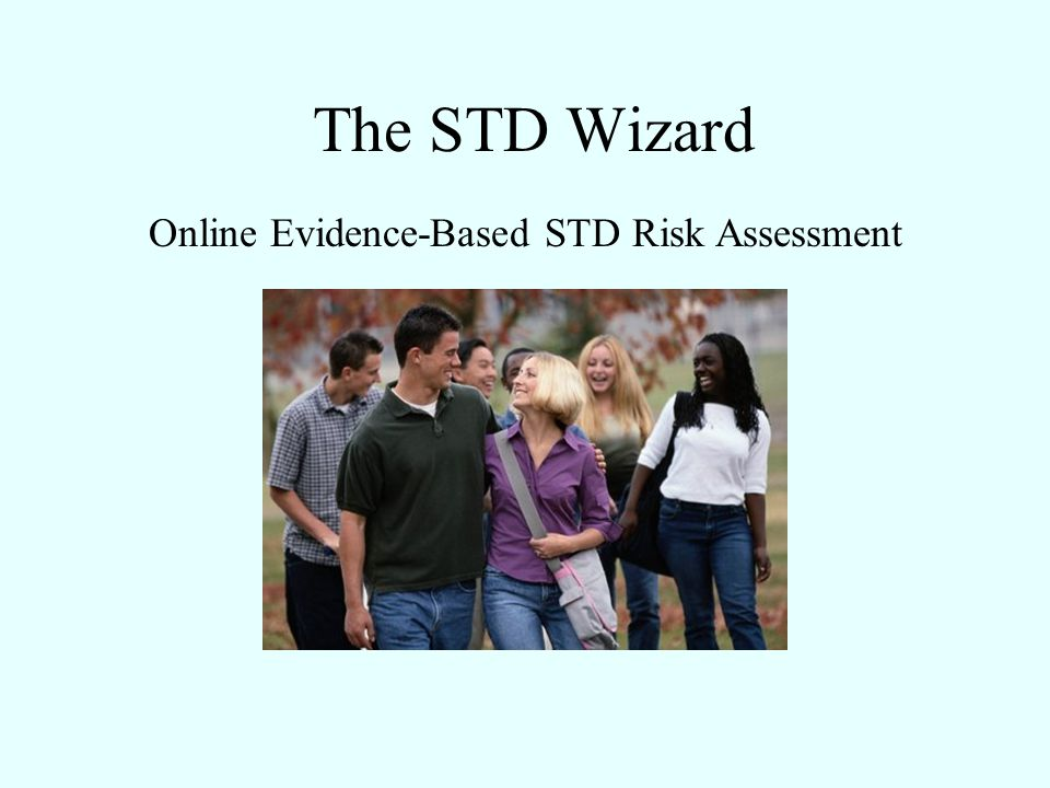 The STD Wizard Online Evidence-Based STD Risk Assessment