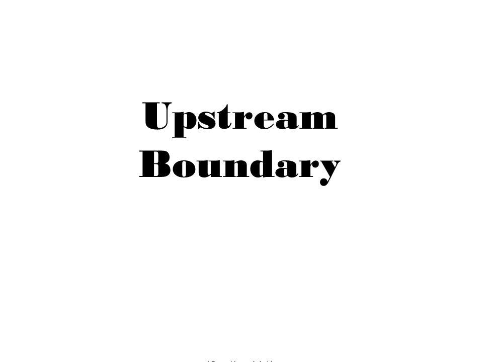 Upstream Boundary (Section V.1)