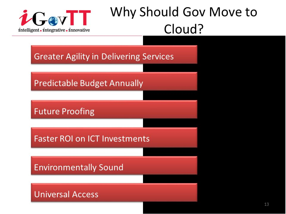 Why Should Gov Move to Cloud.
