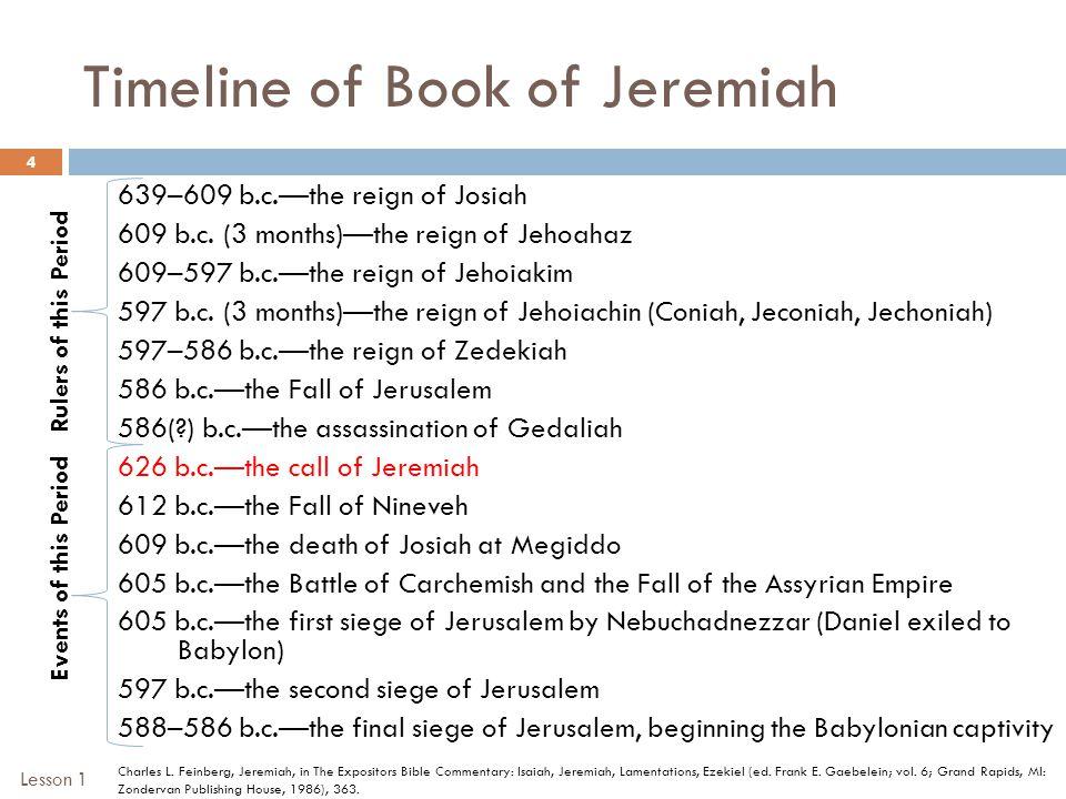 Ezekiel 10 – God's Glory Departs 25 I. Setting Lesson 3