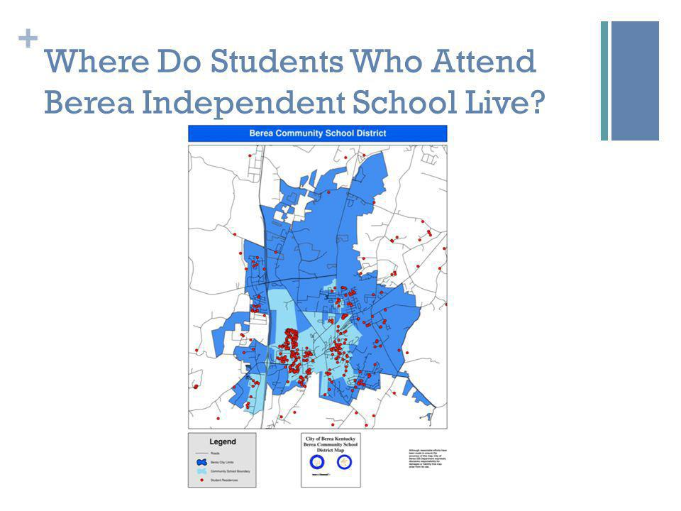 + Where Do Students Who Attend Berea Independent School Live