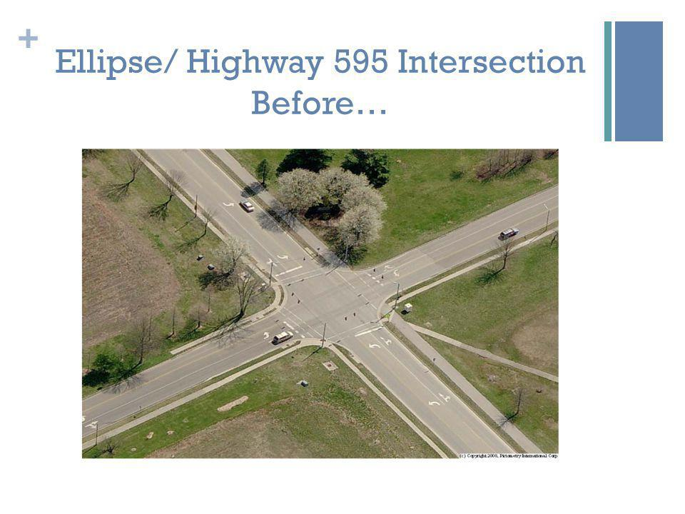 + Ellipse/ Highway 595 Intersection Before…