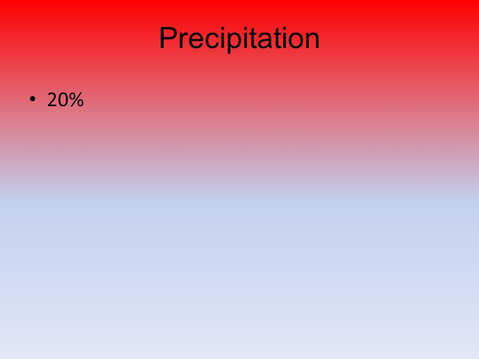 Precipitation 20%