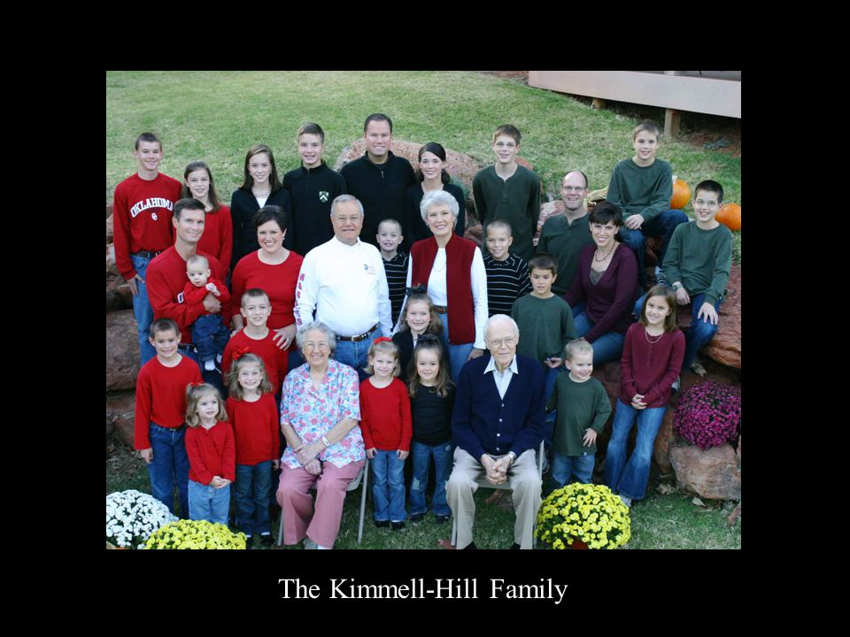 The Kimmell-Hill Family