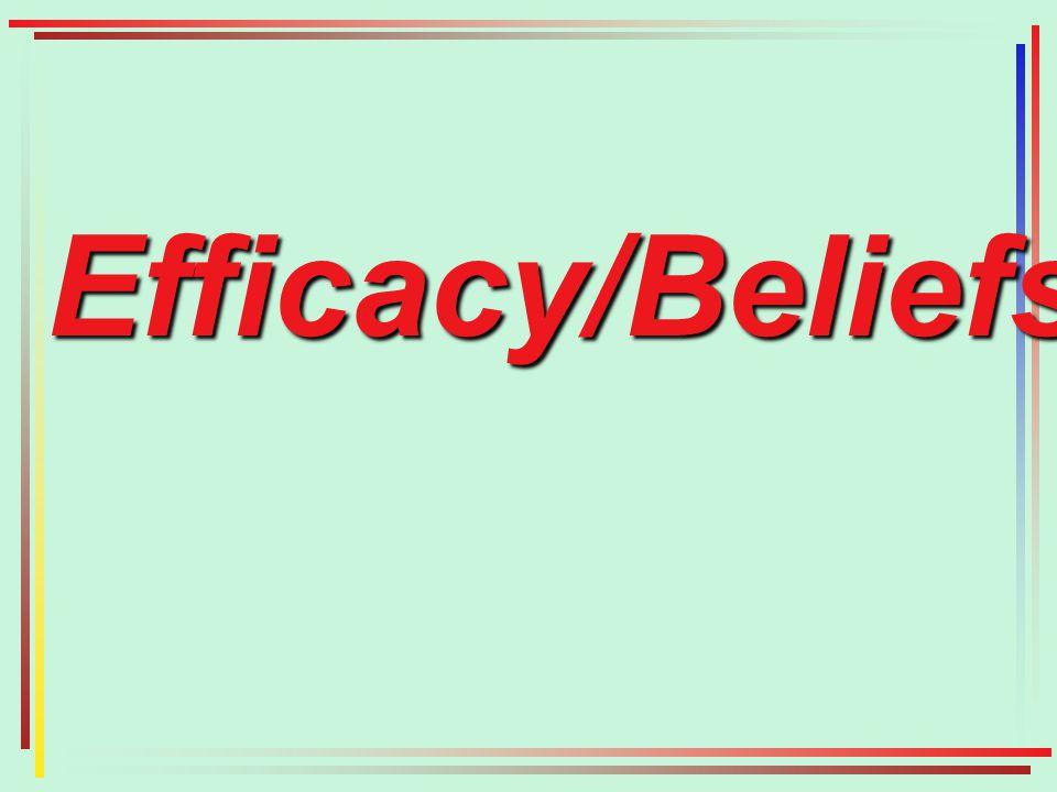 Efficacy/Beliefs