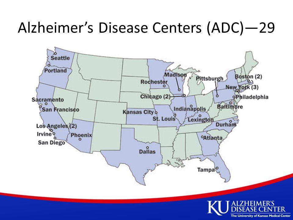 Alzheimer's Disease Centers (ADC)—29
