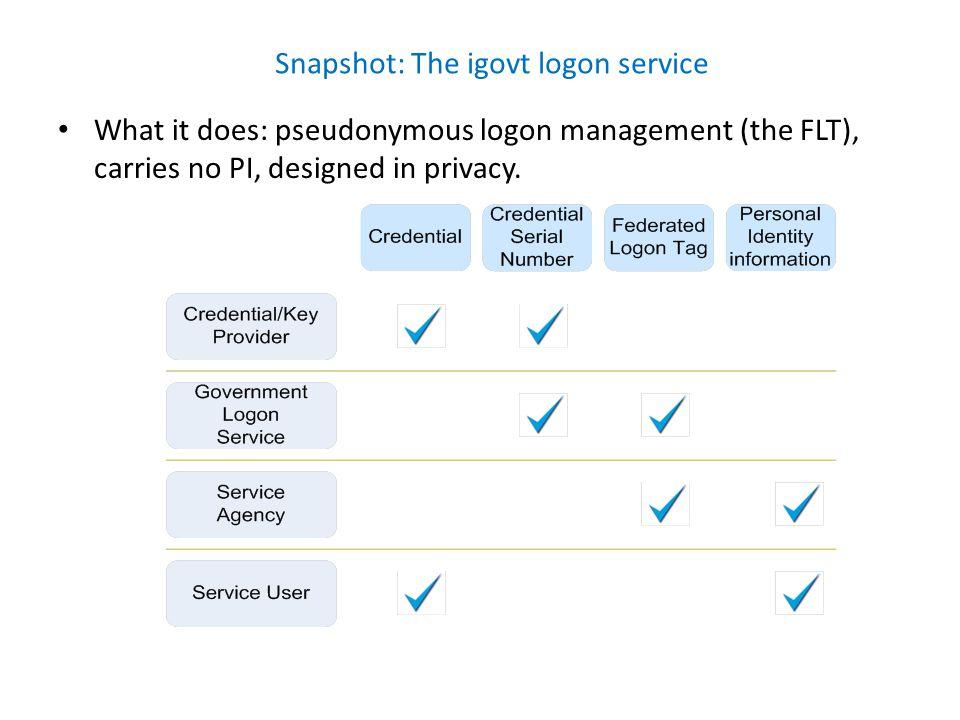 Snapshot: The igovt identity verification service (customer view)
