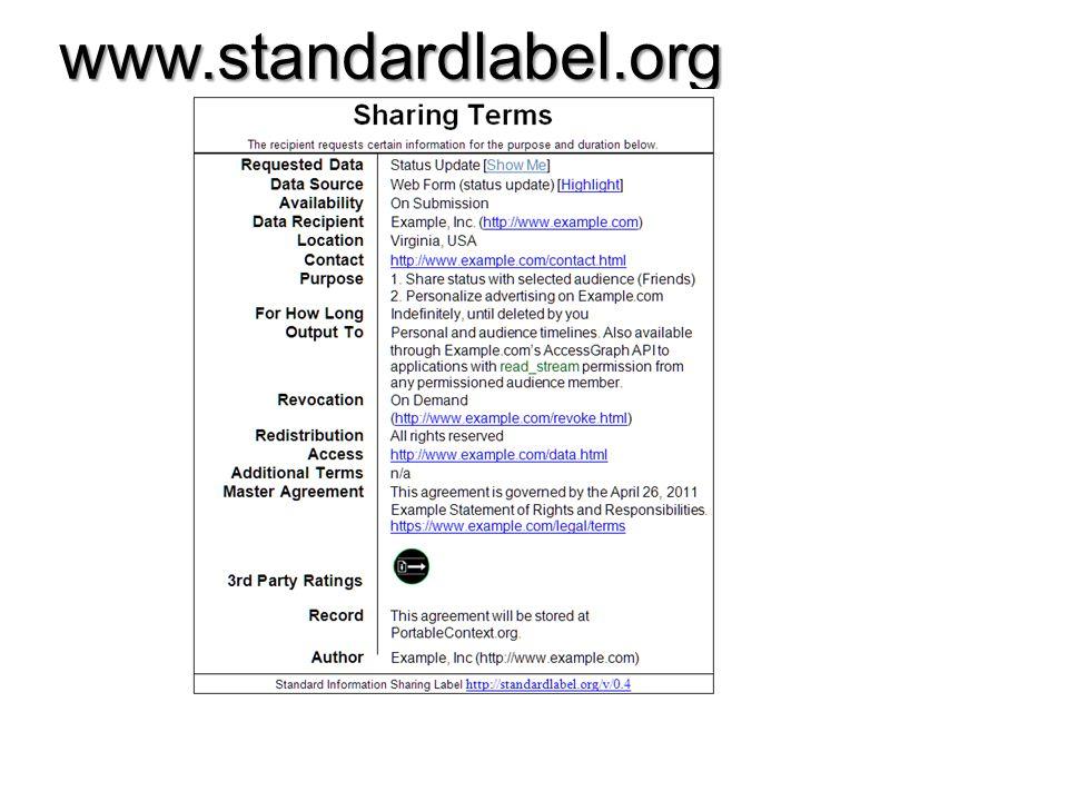 www.standardlabel.org