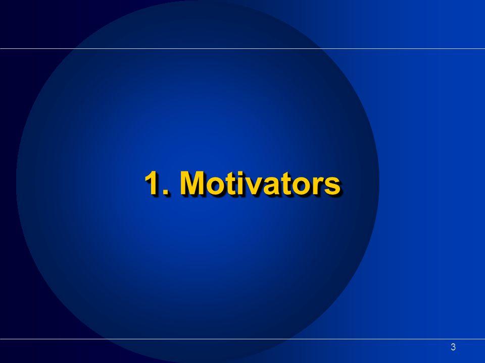 3 1. Motivators