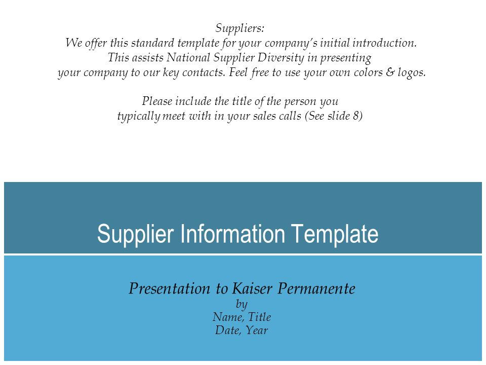 Contents Corporate snapshot Products/services description Geographical footprint KP and/or healthcare projects Client list Key contact Appendix - additional information