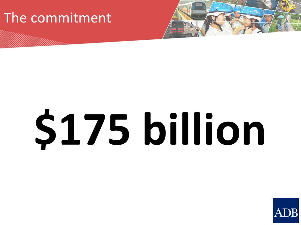 The commitment $175 billion